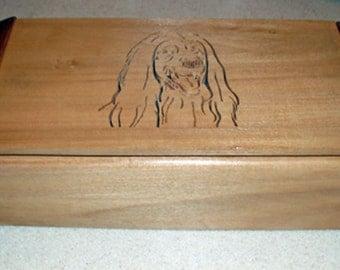 Afghan Hound Keepsake Box