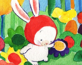 Little Bunny's Magical Forest and Friend