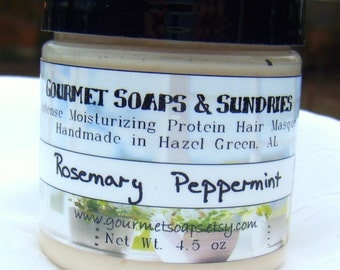 Rosemary Peppermint - Intense Moisturizing Protein Hair Masque
