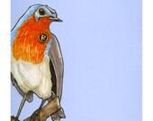 Robin Robin- Small Print 4.5x4.5