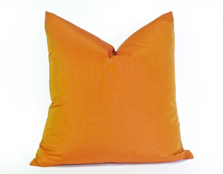 Solid Orange Decorative Pillows : Orange Decorative Pillows Solid Orange Pillows Orange Toss