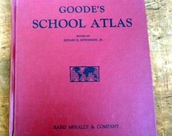 Vintage Rand McNally Atlas