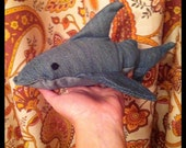 Little Shark Denim Plushie