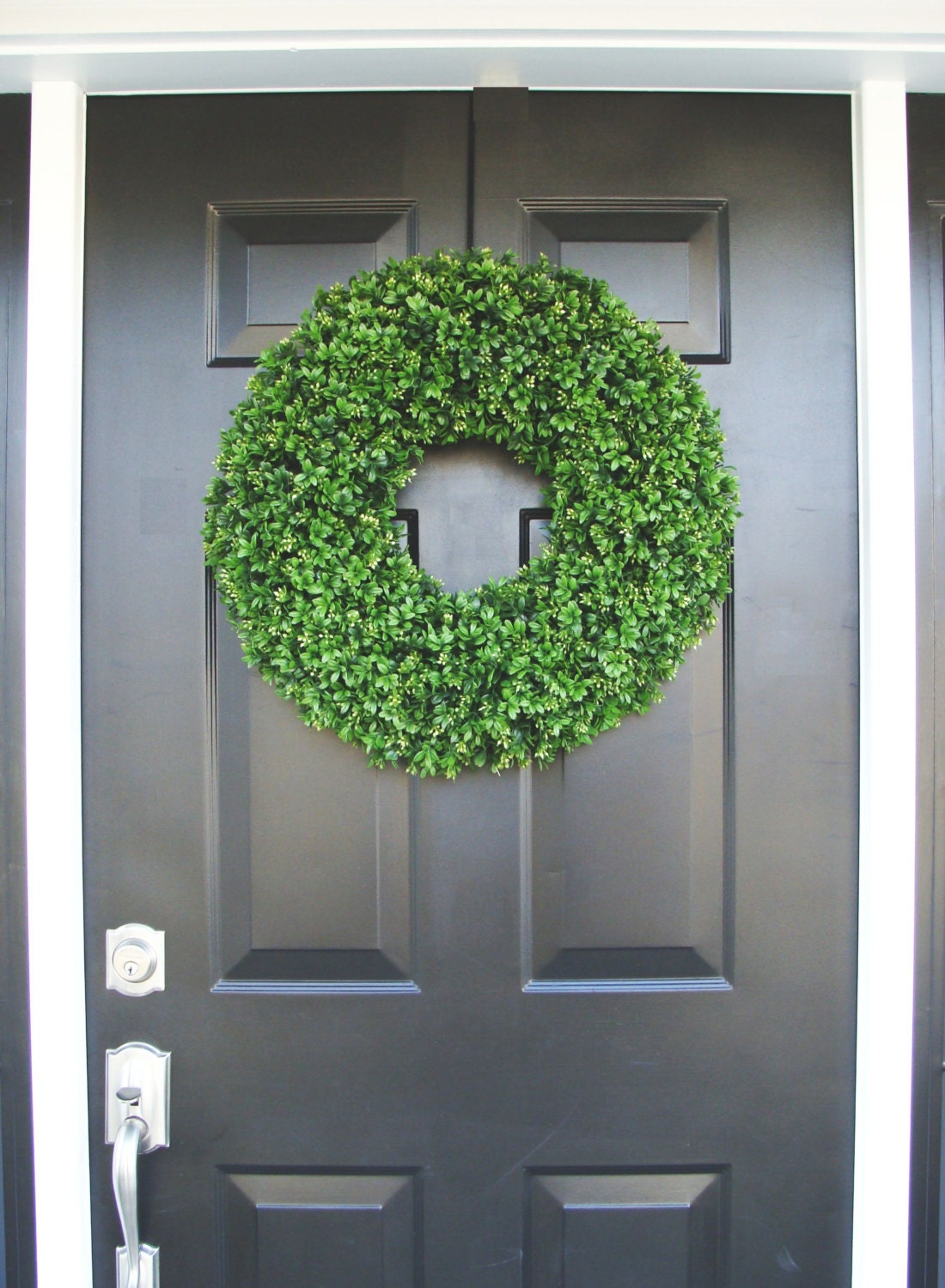 Artificial Boxwood Wreath For Sale - Summer wreath sale realistic 20 inch faux boxwood wreath sizes 14 to 30 inches available wedding door decor spring wreath