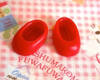 Strawberry Shortcake doll Red Slip On shoes