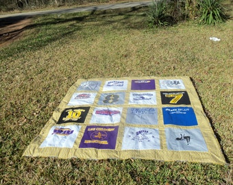 Turn 16 Tshirts into a Beautiful Quilt of Lasting Memories