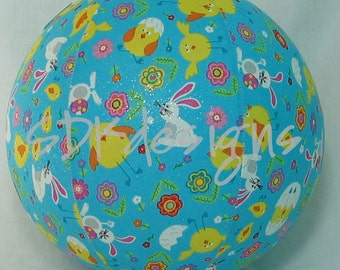 Balloon Ball  - Glitter Easter Chicks & Bunnies - great toy for EASTER basket - as seen on parenting.com