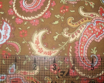 Half Yard Cut of General Fabric Martine Paisley Print Fabric