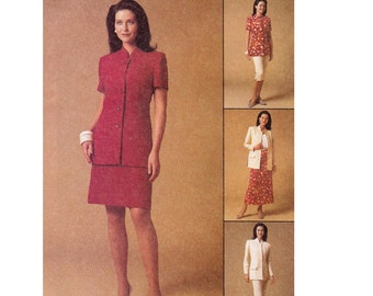 Womens Separates Sewing Pattern - Jackets, Pants, Skirt Pattern - McCalls 2126 - Size 10,12,14 - Misses Sewing Pattern