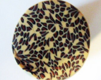 Fimo polymer clay millefiori leopard cane by orly