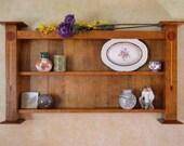 Arts and Crafts Wall Shelf