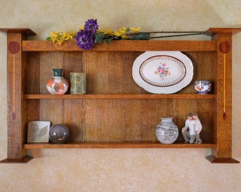 Arts and Crafts Wall Shelf
