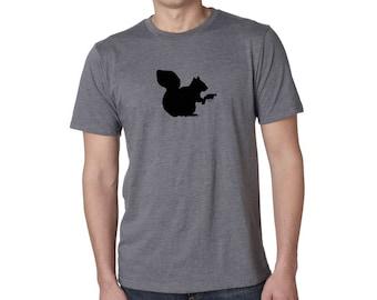 Squirrel Shirt - Squirrel With a GUN - Funny Tee Shirt - Super SOFT