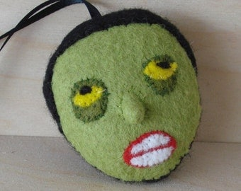 Zombie ornament, brains...
