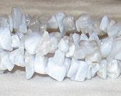Lace Agate Memory Wire Bracelet - 302