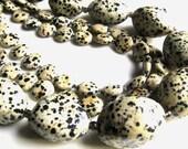 Dalmatian Jasper Gemstone Handmade Necklace