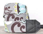 MADE TO ORDER - Camera Strap - Fresh Floral