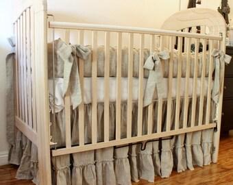 LILY..crib bedding set.