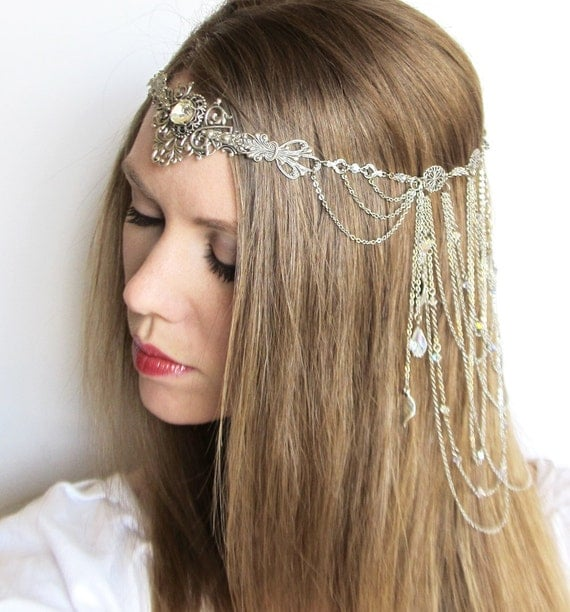 RESERVED for FloatingCandelabras Arwen Headdress from Lord of the Rings