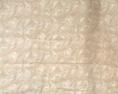 Tan/Cream Feather Fabric - David Textiles - Beth Ann Bruske