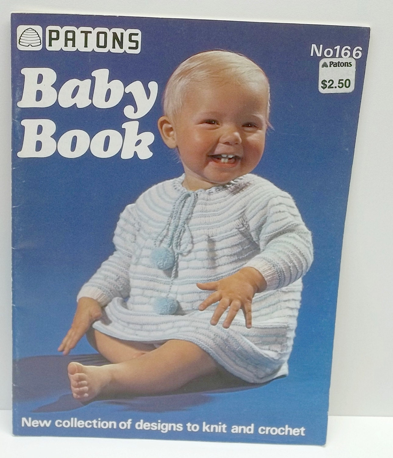 Knitting Books For Babies : Vintage patons baby knitting book no patternsnew