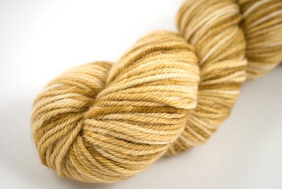 "DK Organic Merino ""Catbus"" Tan, Fawn, Golden Yellow, Brown"