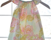 Ivory Poppy Childrens Dress Ready to Ship Flutter Sleeve Dress