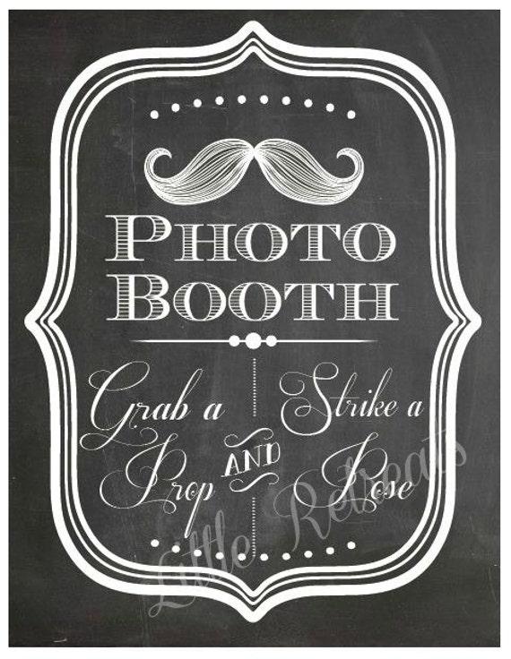 Astounding image with regard to photo booth sign printable