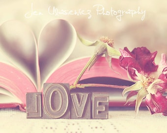 Book of Love Photography Print