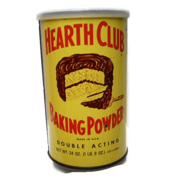 Vintage kitchen spice tins boxes hearth club yellow red farm for Retro kitchen set of 6 spice tins