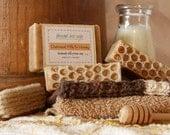 Oatmeal Milk and Honey Soap Handmade Cold-Process Bar