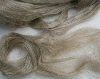 100% wild organic linen/flax fiber.  Natural color flax fiber. Belorussian jewel.