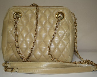 Neiman Marcus Tan Purse from Stylefinders