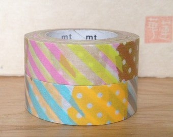 mt washi masking tape - patch - H and I
