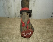 Made to Order, Lil' Crows Valentine, Primitive, Rustic, Valentines Day, Ofg, Faap, Hafair, Dub