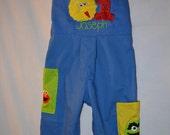 Boys Sesame Street Jon Jon Birthday Party outfit