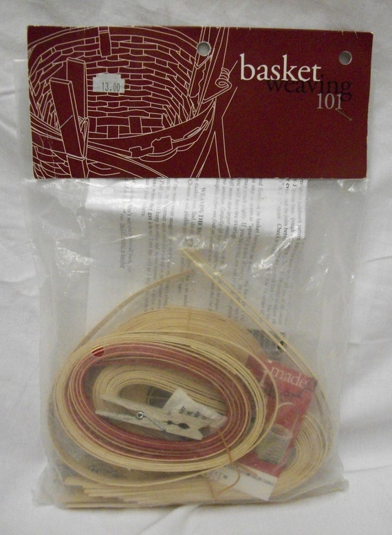 Basket Weaving Supplies And Kits : Basket weaving kit makes baskets by pillagedvillage on etsy
