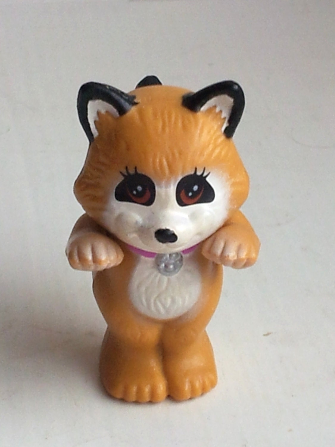 raccoon vintage kenner littlest pet shop plastic animals
