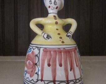 Pretty Little Vintage Ceramic Bell