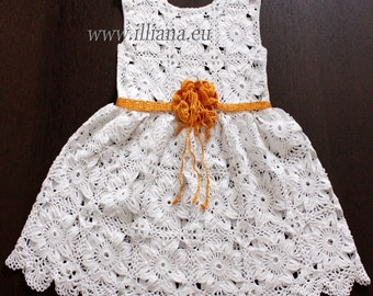 Crochet dress. Pattern No 81