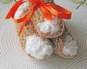 Cannoli, Italian Pastry, Party Favors, Crochet Dessert