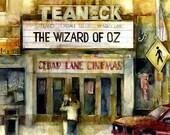 Wizard of Oz - Cedar Lane Theater, Teaneck, NJ   Watercolor Print by Dorrie Rifkin Image 8 x 10
