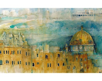 Jerusalem - Print from Original Watercolor