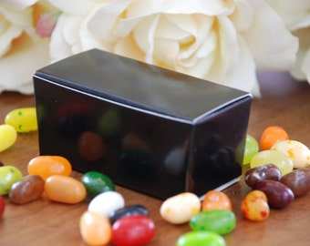 Black Small Favor Boxes - Set of 10