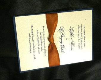 We're Tying the Knot Wedding Invitations by Kim Boyce Designs