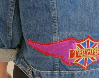 The Wrangler Triumph Denim Jean Jacket Medium