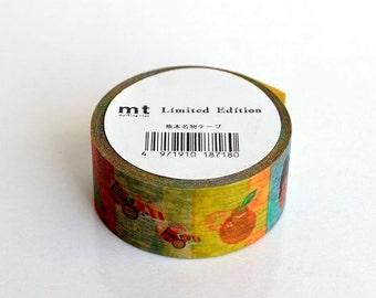 mt Washi Masking Tape - Kumamoto Wares - Limited Edition