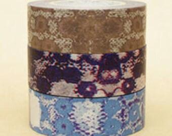 Zwillinge Washi Masking Tape - Lace - Set 3 - Wide