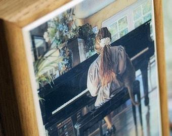 vintage beautiful wooden box...  DIY project supply...  home decor...  hidden secrets...  Dec 10