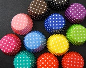 Assorted Polka Dot Cupcake Liners (120)